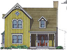 foto modelo de casa prefabricada 74