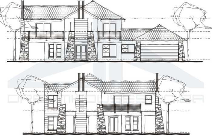 Planos de casas modernas dreamhouses for Planos de fachadas