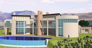 Fachada de casa moderna modelo 2