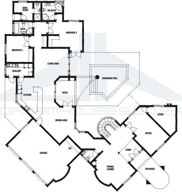 Casas prefabricadas chile planos planta baja imagui - Planos casas planta baja ...