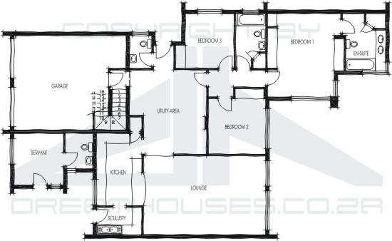 Casas modulares de una planta
