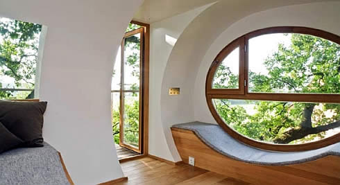 Casa arbol prefabricada 3 for Arboles para interior casa