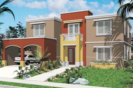 Modelos casa villa mi antojo auto design tech for Pintura exterior para casas modernas