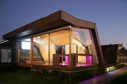 Casa moderna prefabricada de madera en australia for Casas prefabricadas modernas