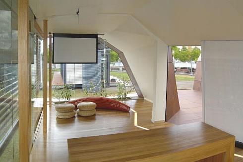 Casa moderna prefabricada de madera en australia for Extra small bedroom decorating ideas