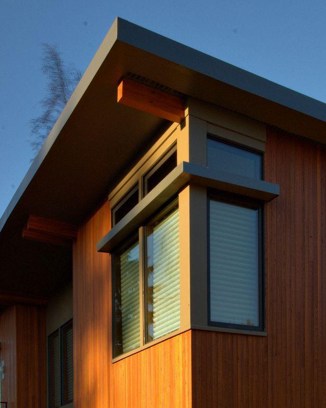 Plano y fotos de una casa prefabricada moderna - Casa prefabricada moderna ...