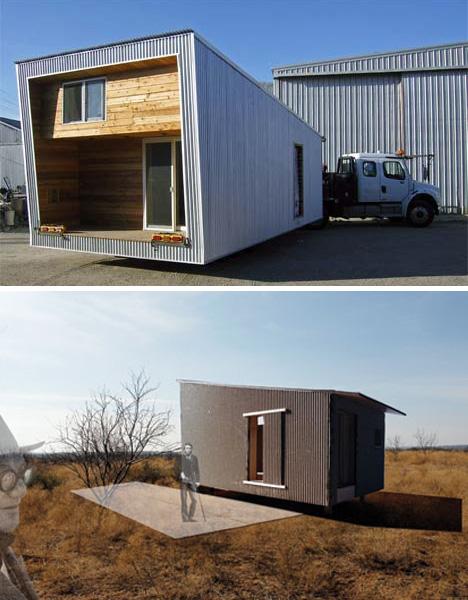 Una sola pieza prefabricada todo en uno casa para una - Mini casas prefabricadas ...
