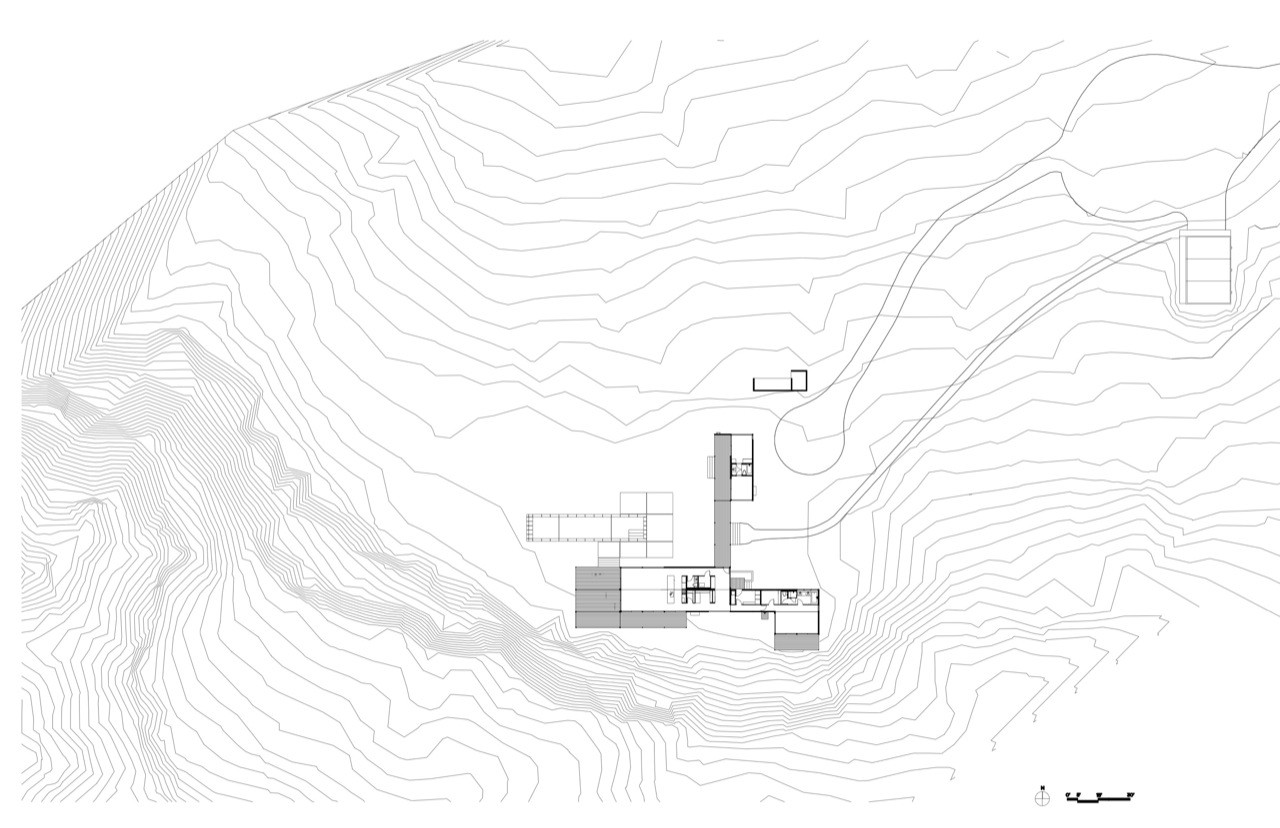 casa prefabricada en el desierto