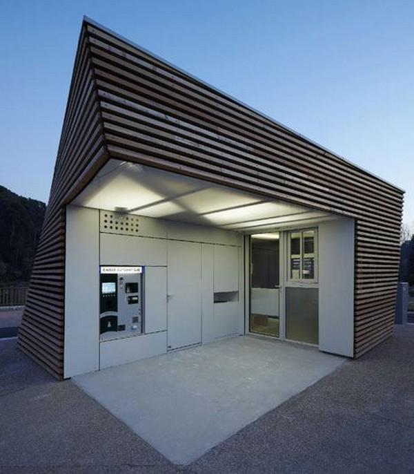 Kioskos prefabricados multiusos for Diseno de kioscos en madera