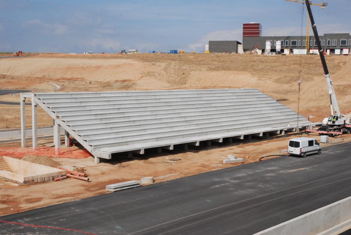 durabilidad extrema en las gradas prefabricadas