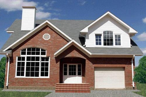 Foto de casa canadiense prefabricada