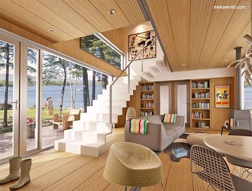 Foto de casas modulares de madera