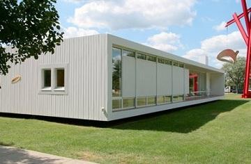 Una casa prefabricada futurista y de vanguardia for Casas futuristas