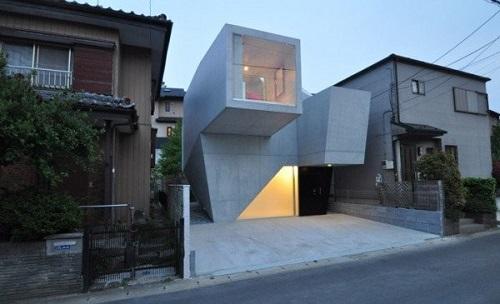 Fachadas de casas modernas de japon for Casa minimalista japon