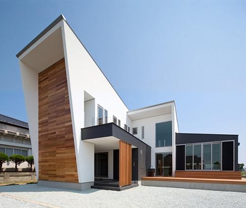 Fachadas de casas modernas de japon for Fachadas hoteles minimalistas