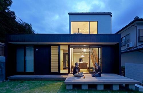 Fachadas de casas modernas de japon