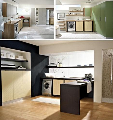 Muebles prefabricados para el cuarto de lavado for Diseno de muebles para cuarto de lavado