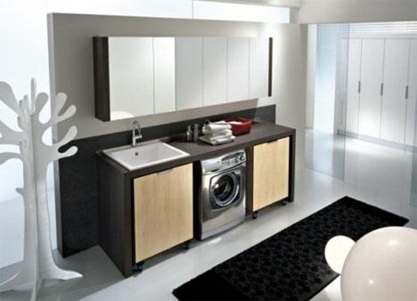 Muebles Prefabricados Para El Cuarto De Lavado