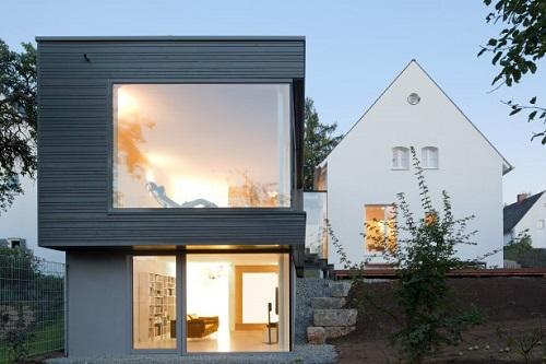 Casa modular moderna prefabricada en Alemania