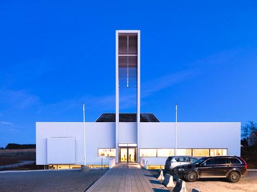 Fachada Y Fotos De Iglesia Prefabricada En Noruega Una Verdadera
