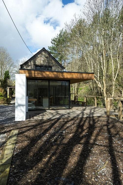 Casa soñada en Corwen, Gales del Norte un paradisiaco descanso junto al rio