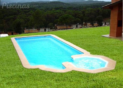 Aquacentro albercas prefabricadas for Modelos de piscinas de campo