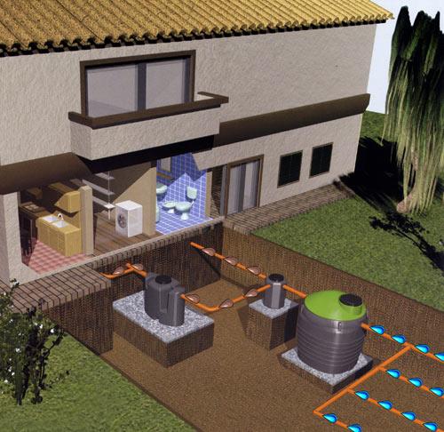 Chile casas prefabricadas - Construir fosa septica ...
