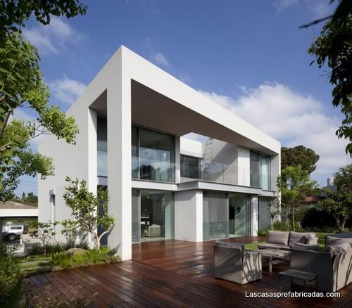 Fachada de la casa - CH en Israel