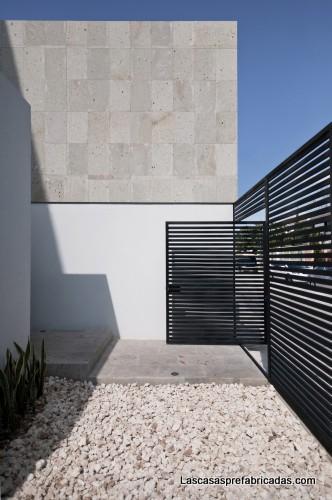 Residencia con carácter sobrio en Cancún