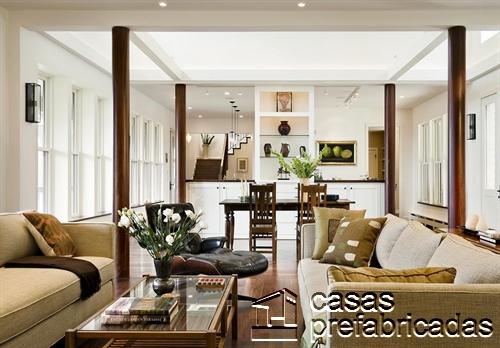 Dise os de columnas para interiores y exteriores como for Casas pintadas interior colores