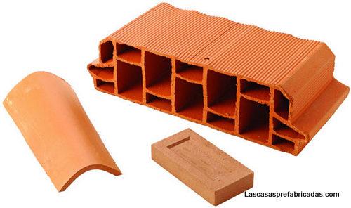 Materiales de construccion arcilla