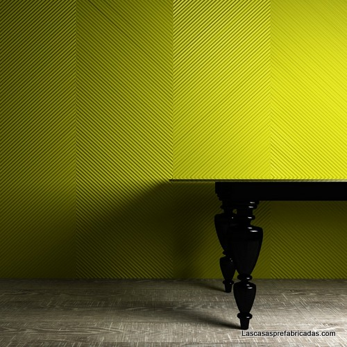 Paneles para paredes con formas 3D