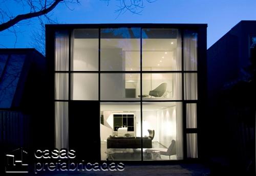 30 estilos de fachadas hechas con vidrio