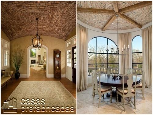 Decoraci n alternativa para techos y sus cielos falsos for Ideas para techos interiores