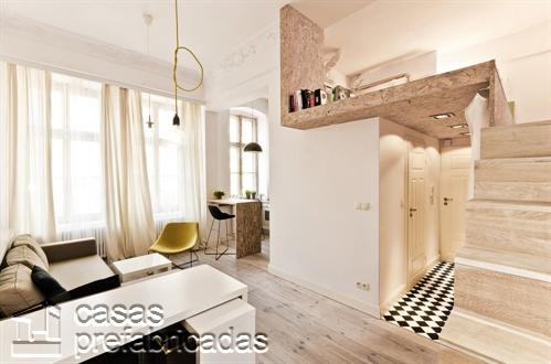 Mezzanine moderno en ambiente blanco (1)
