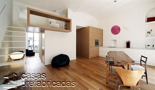 Mezzanine moderno en ambiente madera(4)