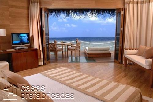 24 formas de decorar una habitación con vistas a la playa (9)