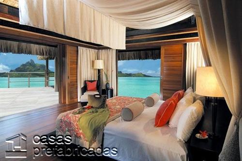 24 formas de decorar una habitación con vistas a la playa (15)