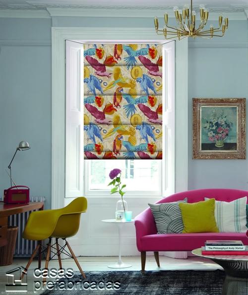 Cortinas decorativas basadas en la cultura popular de Birmingham West Midlands RU Guadeloupe-Paradise