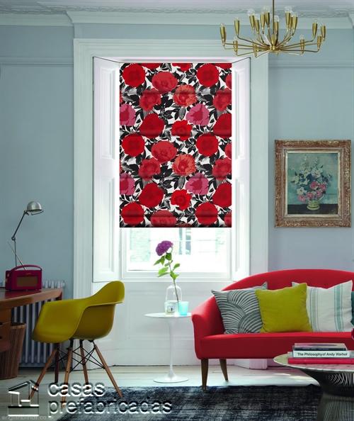 Cortinas decorativas basadas en la cultura popular de Birmingham West Midlands RU Menton-Poppy