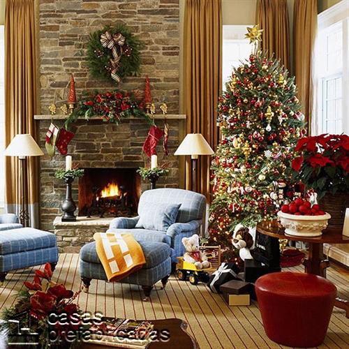 Empieza la navidad y año nuevo desde ya decorando tu sala (11)