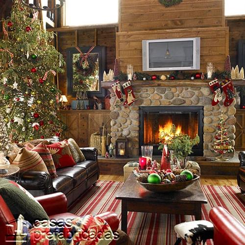 Empieza la navidad y año nuevo desde ya decorando tu sala (16)