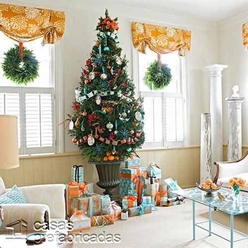 Empieza la navidad y año nuevo desde ya decorando tu sala (19)
