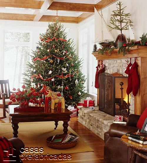 Empieza la navidad y año nuevo desde ya decorando tu sala (8)
