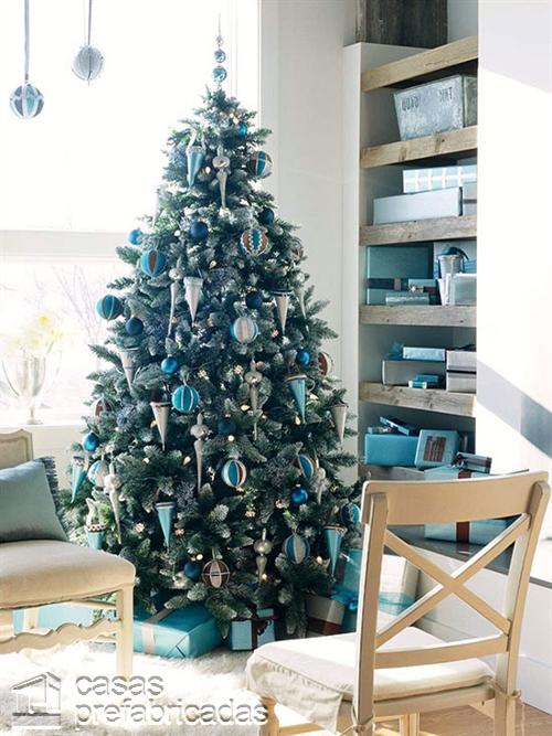 Empieza la navidad y año nuevo desde ya decorando tu sala (9)