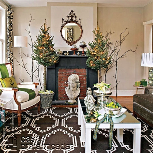 Empieza la navidad y año nuevo desde ya decorando tu sala (15)