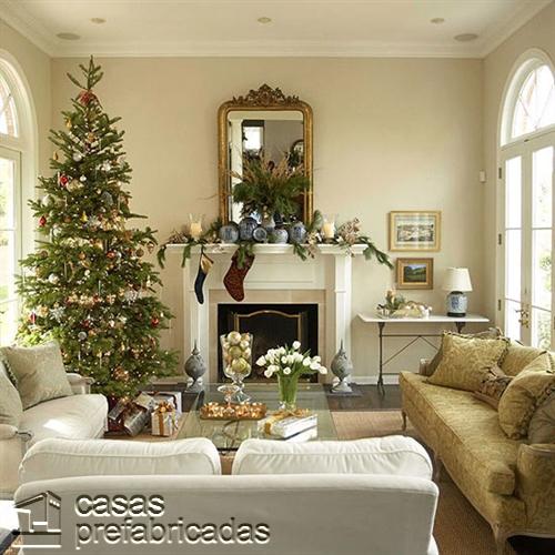 Empieza la navidad y año nuevo desde ya decorando tu sala (17)