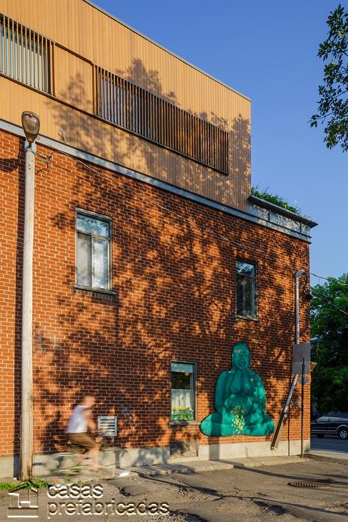 Moderna adición duplex en apartamento de Montreal (2)