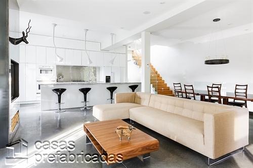 Moderna adición duplex en apartamento de Montreal (3)