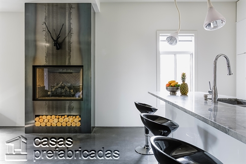 Moderna adición duplex en apartamento de Montreal (5)